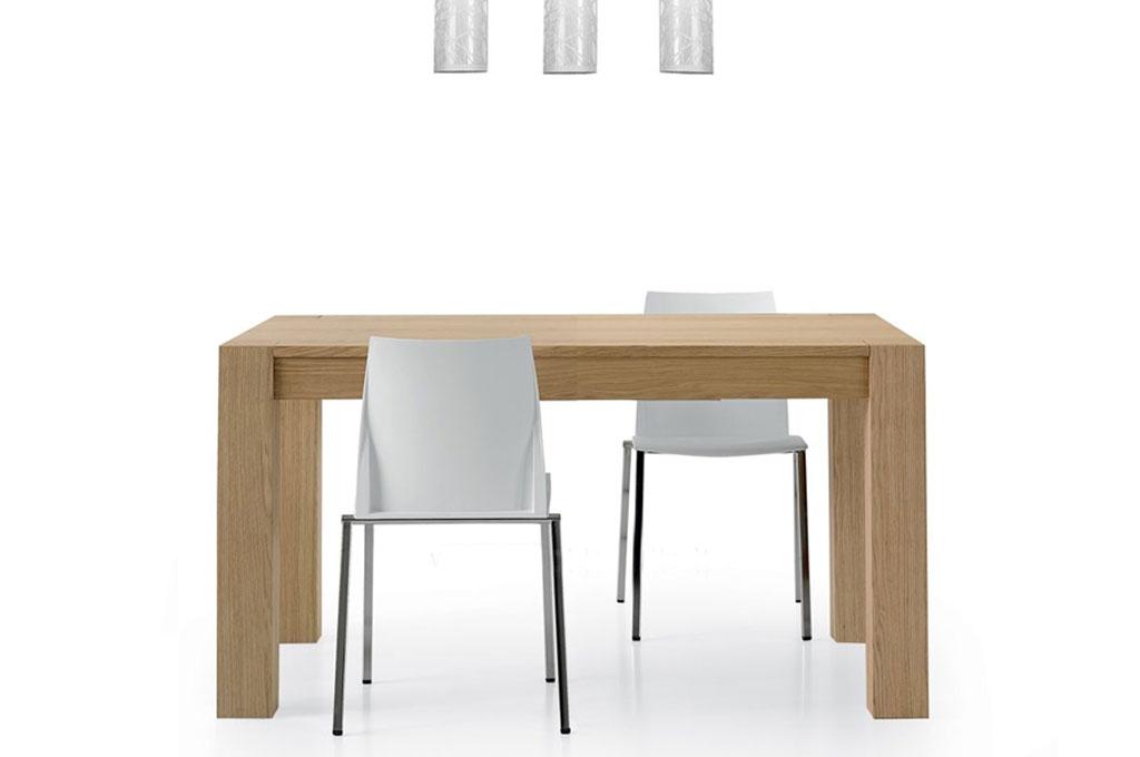 Tavolo Moderno In Rovere.Solid Tavoli Moderni Mobili Sparaco
